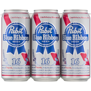 Pabst Blue Ribbon 16Oz.