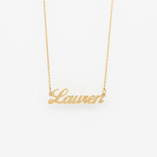 Load image into Gallery viewer, Custom Cursive Name Necklace