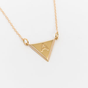 Acute Initial Necklace