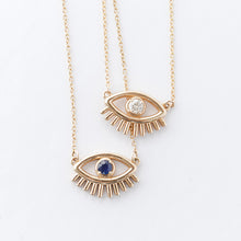 Load image into Gallery viewer, Evil Lashy Eye Necklace
