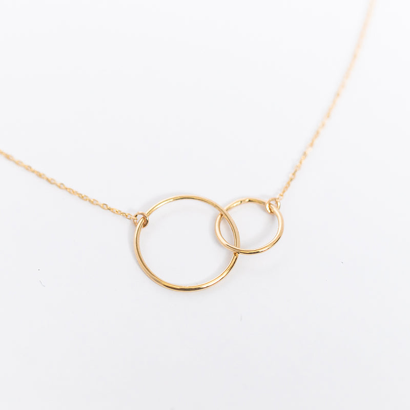 Girlfriend Circle Necklace