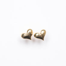 Load image into Gallery viewer, Mini Puff Heart Stud