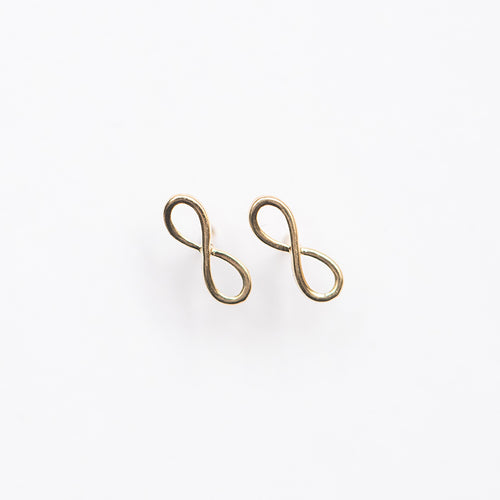 Mini Infinity Stud Earring