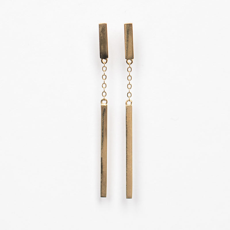 Nunchucks Stud Earring