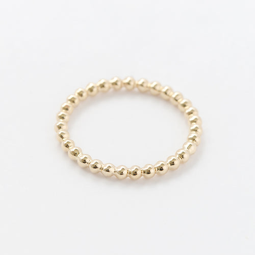 Single Row Bead Ring