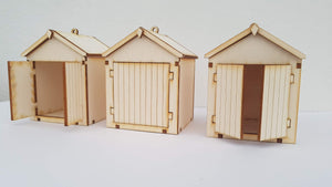 Build a TINY beach hut 1:32 model kit