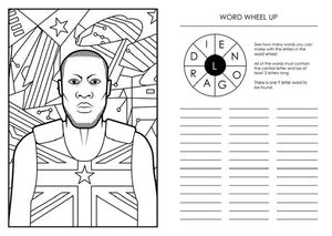 Ben Gore Grime Activity Book