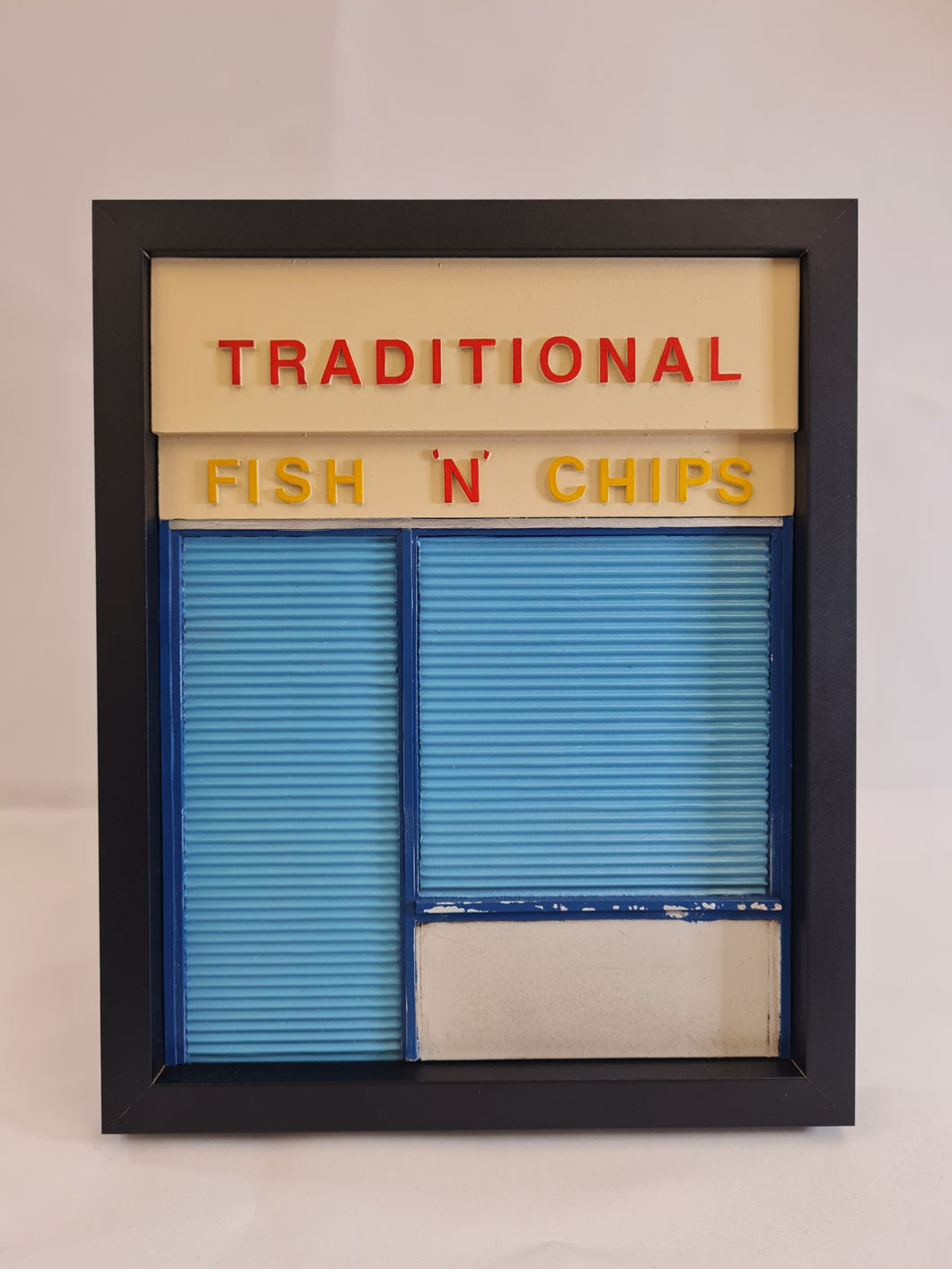 96togo - Traditional Chippy - Yellow and Red
