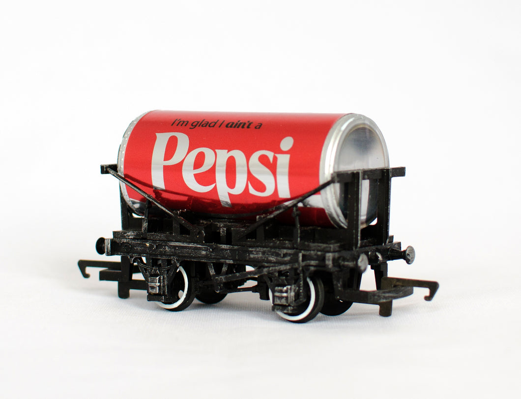 H (Anthony Haylock) Glad I ain't a Pepsi - Train Carriage