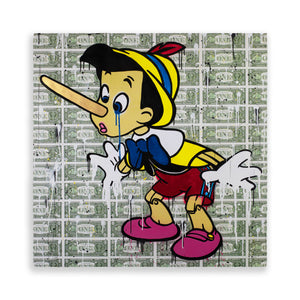 Ben Allen - Monster Pinocchio Original Painting