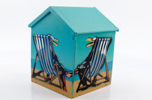 Load image into Gallery viewer, Cosmo Sarson - Laughing Seagulls Beach Hut
