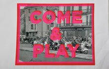 Load image into Gallery viewer, Dave Buonaguidi - Come and Play screen print onto photographs from original 1964 negative