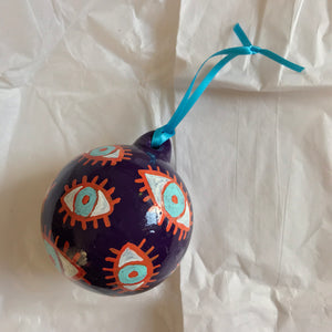 Tinsel Edwards Ceramic bauble