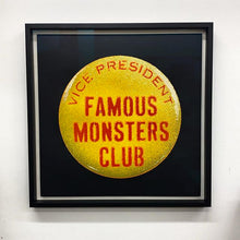 Load image into Gallery viewer, Eelus - Famous Monsters Club - Hand Painted Edition FRAMED