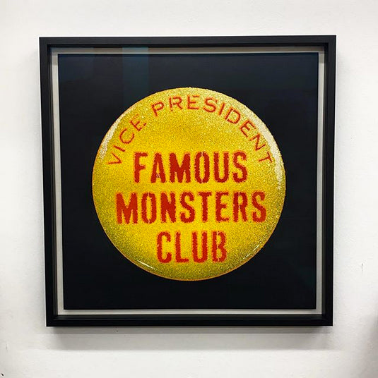 Eelus - Famous Monsters Club - Hand Painted Edition FRAMED