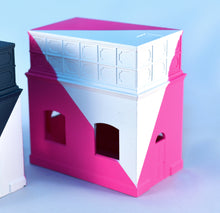 Load image into Gallery viewer, Frea Buckler - Pink/White Building
