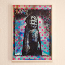 Load image into Gallery viewer, Donk - 'Ghoul' Screen print on salvaged plywood