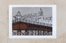 Load image into Gallery viewer, Jo Peel Brighton Print - Silver edition