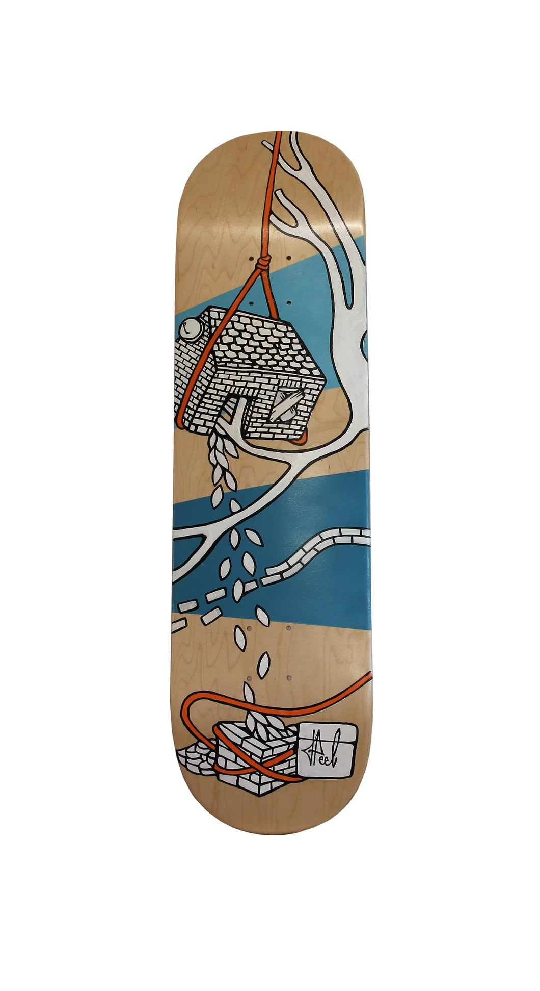 Jo Peel - Skatedeck - House on the Lake - House