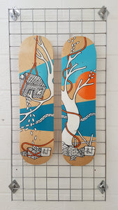 Jo Peel House on the lake - Skatedecks Pair