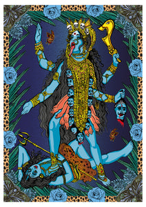 MsDre - 'Goddess Kali at Midnight' Print