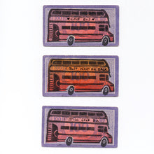 Load image into Gallery viewer, Pam Glew- Love Bus lino print