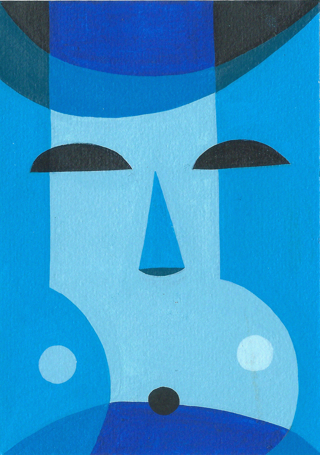 URTO Original Postcard: Sea Mask 3