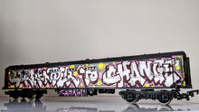 Load image into Gallery viewer, Surrender to change/Forever Forwards - Graffitied Train Carriage By Chum101