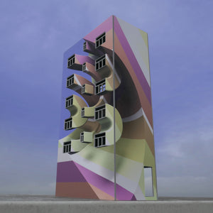 Peeta - Tower block in Pink