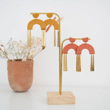 Load image into Gallery viewer, Frankie Earrings in Mustard - By Pepper You