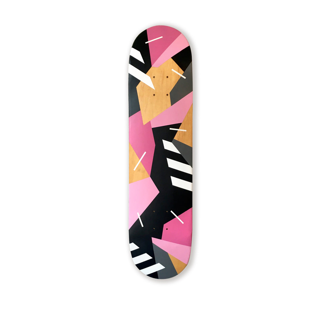 Mark McClure Skateboard deck Pink