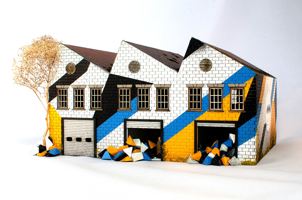 Mark McClure's Shape Makers - Warehouse Building
