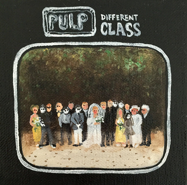 Tinsel Edwards- Pulp- Different Class -10x10cm
