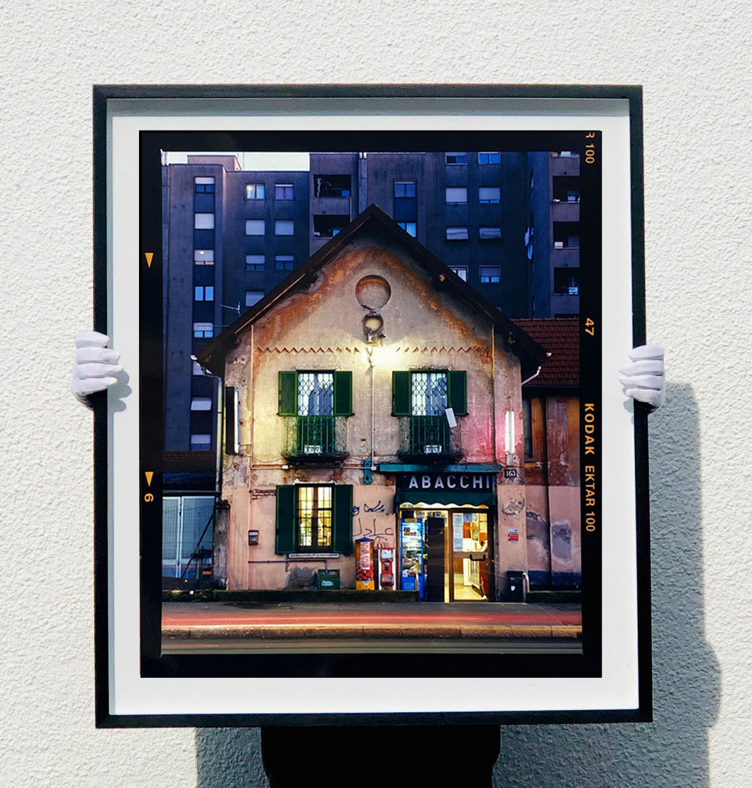 Richard Heeps - TABACCHI at Twilight Framed