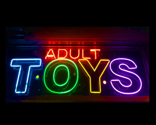 Richard Heeps - 'Adult Toys' Darkroom Framed Photograph