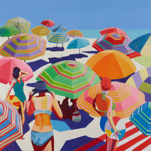 Load image into Gallery viewer, Ruth Mulvie - Parasols - Giclee Print - FRAMED