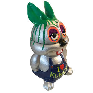 Shuby -Leigh Bowery 'I love Kunst' ceramic biscuit jar