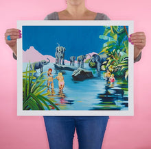 Load image into Gallery viewer, Ruth Mulvie - Garden of earthly delights - Giclee Print - Framed