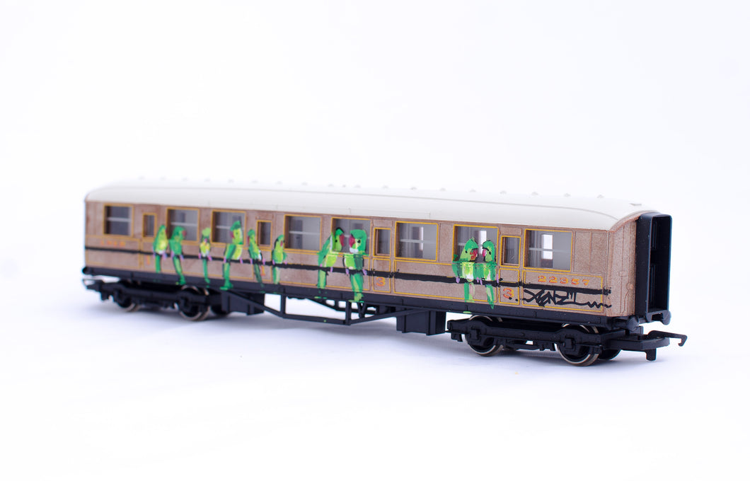 Xenz - Miniature train made for Urban Miniatures
