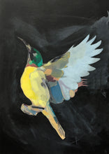 Load image into Gallery viewer, Emily Kirby -'Sunbird VI' Original Painting on Canvas