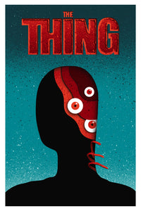 Eelus - The Warmest Place to Hide (The Thing) Screen print AP