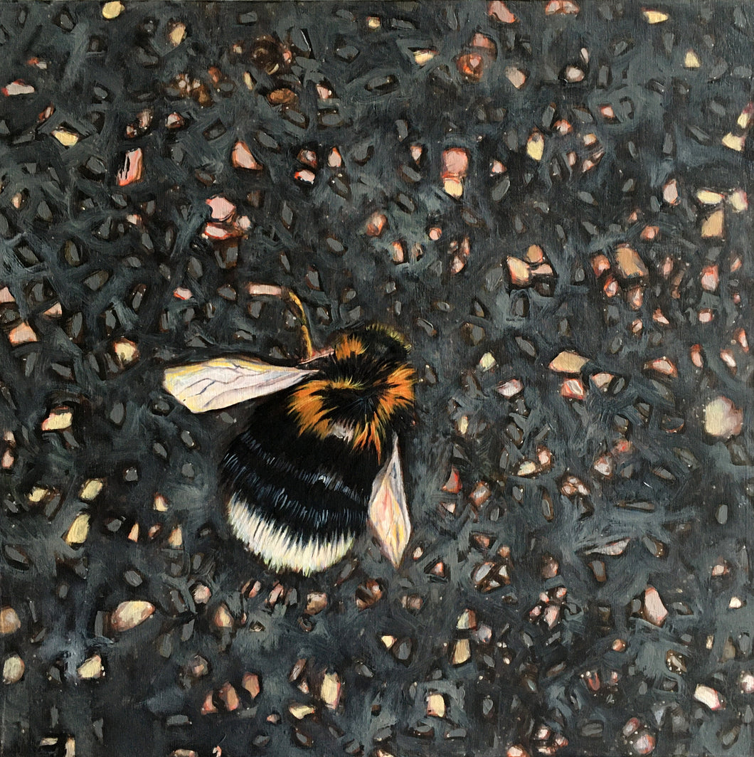 Tinsel Edwards - I've seen so many dead bees on the streets this summer