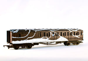 Will Barras - Stealth train and carriages
