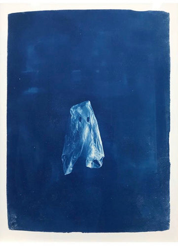 Craig Keenan - 'And the ghosts of plastic bags will walk the earth for centuries to come' Framed