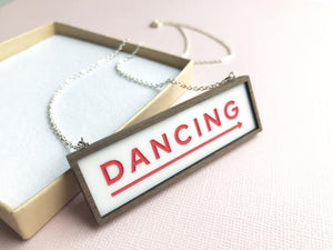 Tiny Scenic Dancing necklace