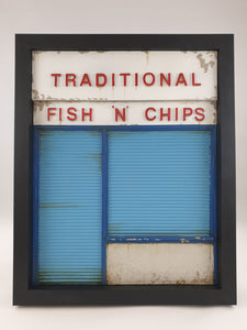 96togo Traditional chippy - Red, white & blue
