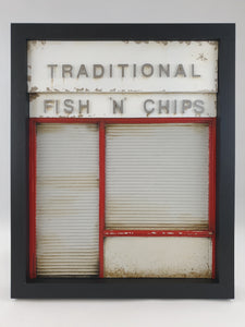 96togo Traditional chippy - Red & white