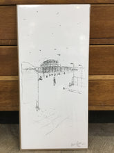Load image into Gallery viewer, Keira Rathbone Print- Skeleton Pier - Brighton West Pier