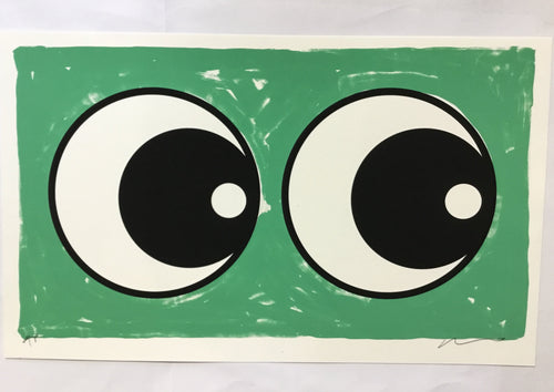 Adam Bridgland eyes pale green