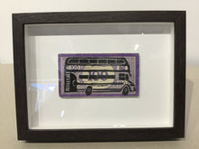 Load image into Gallery viewer, Pam Glew - FRAMED- Bus Lino Print
